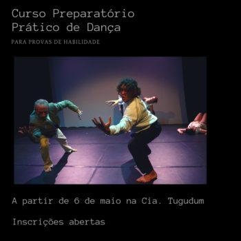 """Espaço Tugudum oferece """"Curso Preparatório Prático de Dança"""" para vestibulandos"""