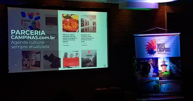 Visite Campinas parceria Campinas.com.br turismo